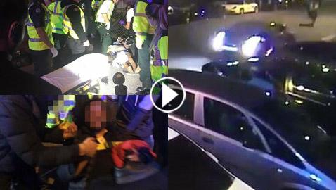 جريمة كراهية.. جرحى بعملية دهس مارة قرب مسجد في لندن! فيديو وصور