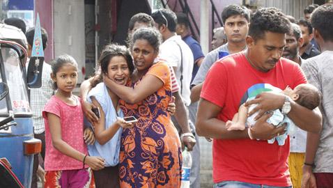 اعتقال سوري خلال تحقيقات الأحد الأسود في سريلانكا