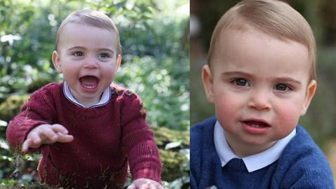 في عيد ميلاده الأول: صور الأمير لويس ابن الأمير ويليام وزوجته كيت