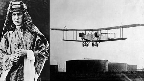 حكاية يوم انتشلوا لورنس العرب من طائرة سقطت به منذ 100 عام