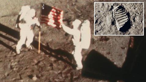 في الذكرى الـ 50.. الخطوات الأولى للإنسان على سطح القمر
