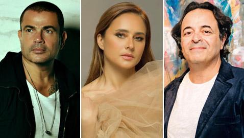 هل تم زواج نيللي كريم من رجل الأعمال عمر إسلام صديق عمرو دياب؟